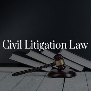 Civil Litigation Law Toronto