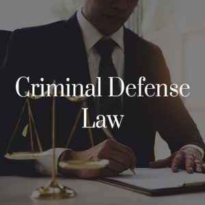 Criminal Law Toronto
